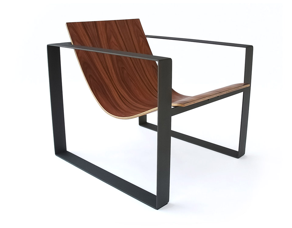Slyde Lounge Mid century lounge chair