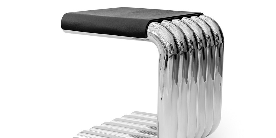 xosted side table - automotive inspired furniture